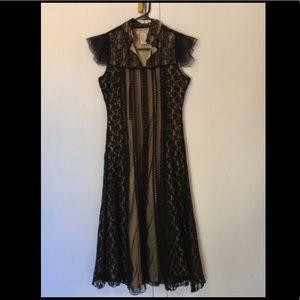 Black lack Juicy Couture dress Sz S
